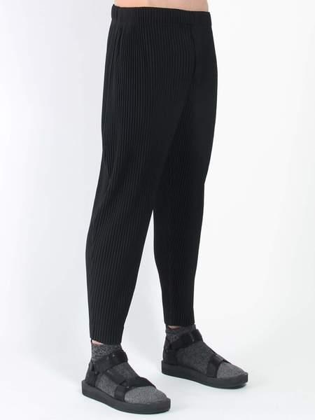Issey Miyake Homme Plisse Straight Leg Pant - Black