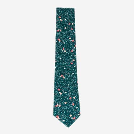 Cursor & Thread Snowberry Necktie - Green