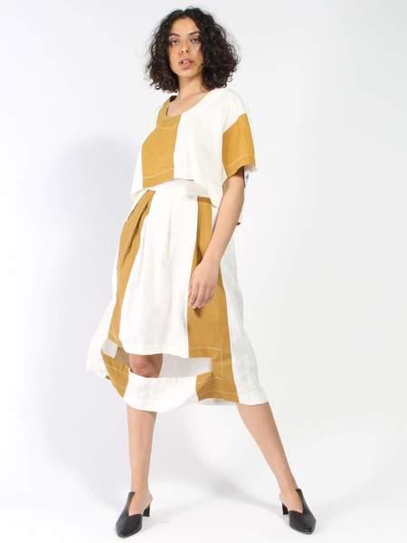 Nancy Stella Soto Striped Skirt