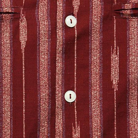 House of St. Clair Souks Vacation Shirt - Saffron Yarn Dyed