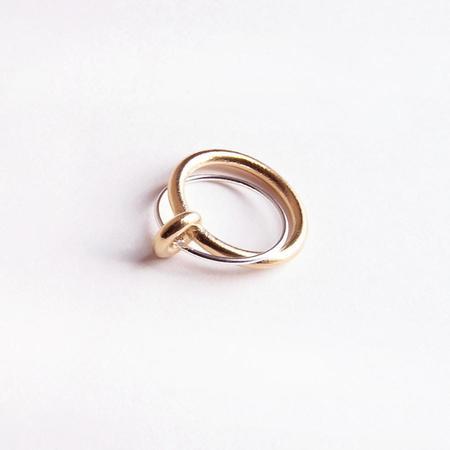 Metalepsis Projects Binary Ring - Silver/Brass