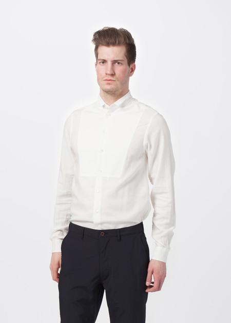 Sage de Cret Flat-Front Trouser - navy