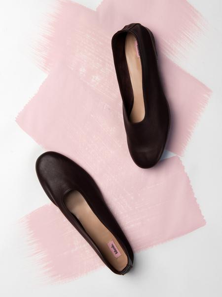 blush. Glove - Borgogna