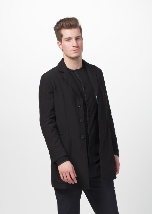 Men's Sage de Cret Hidden Button Coat