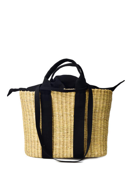 Muun CABA P HDL BAG - NATURAL/BLACK POUCH