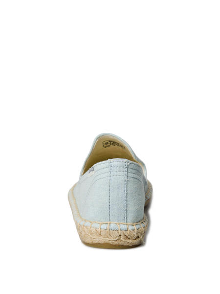 Soludos Embroidered Smoking Slipper - CHAMBRAY
