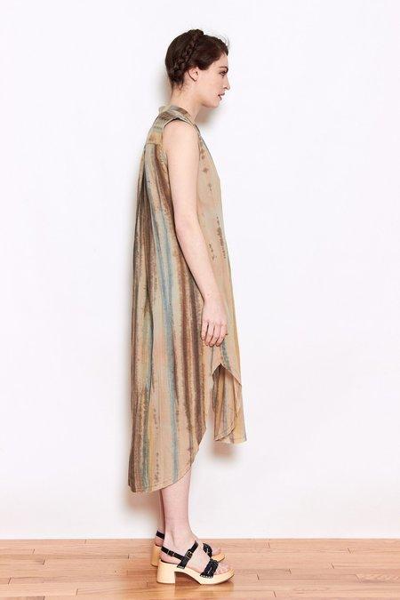 Launderette Olivia Dress - Natural Combo