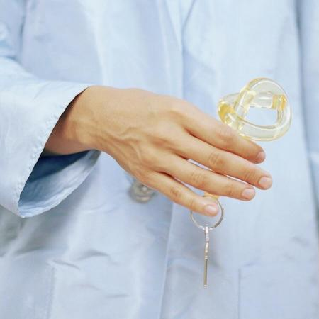 Corey Moranis Knot Keychain - Yellow