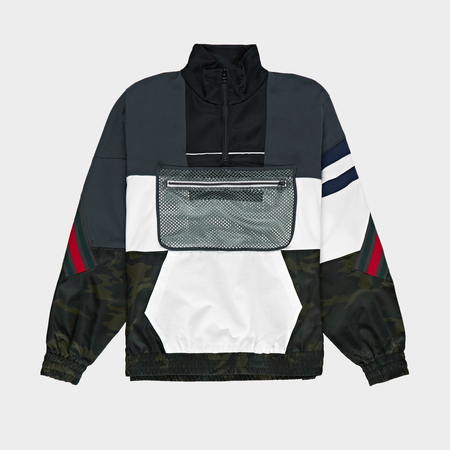 Facetasm Zip Pouch Jacket - Navy