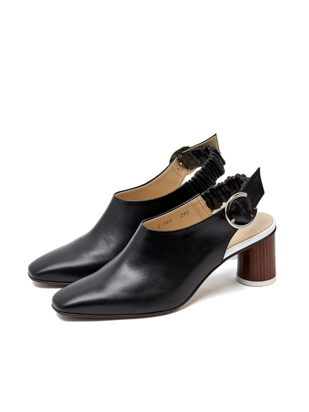 LOYIQ Slingback Shoes - Black