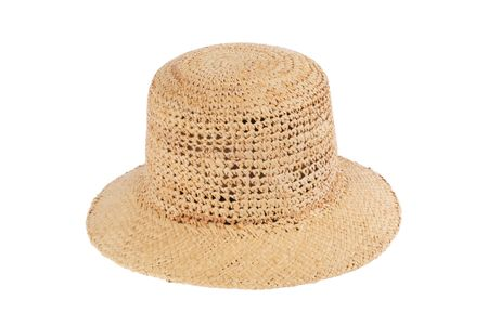 Clyde Toni Crocheted Straw Hat - Natural