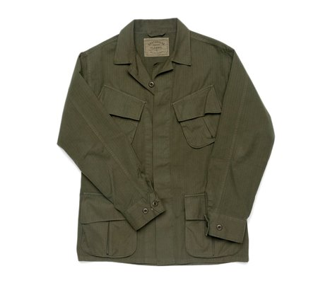 Portuguese Flannel Type III US Army Tropical Jacket - Olive