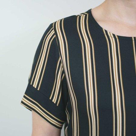 Dagg & Stacey Milan Blouse - Black Stripe