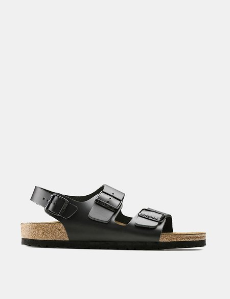 Birkenstock Milano Sandals (Regular) - Black
