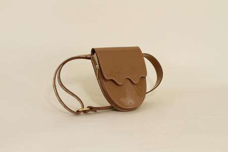 ASHYA Palmetto belt bag - Amber