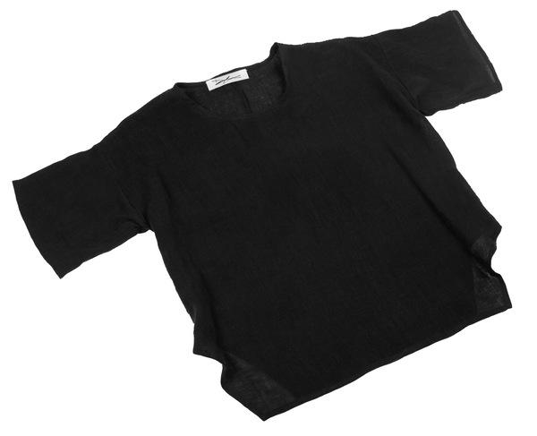 Devlyn van Loon Side Split T - Black *Pre-Order*
