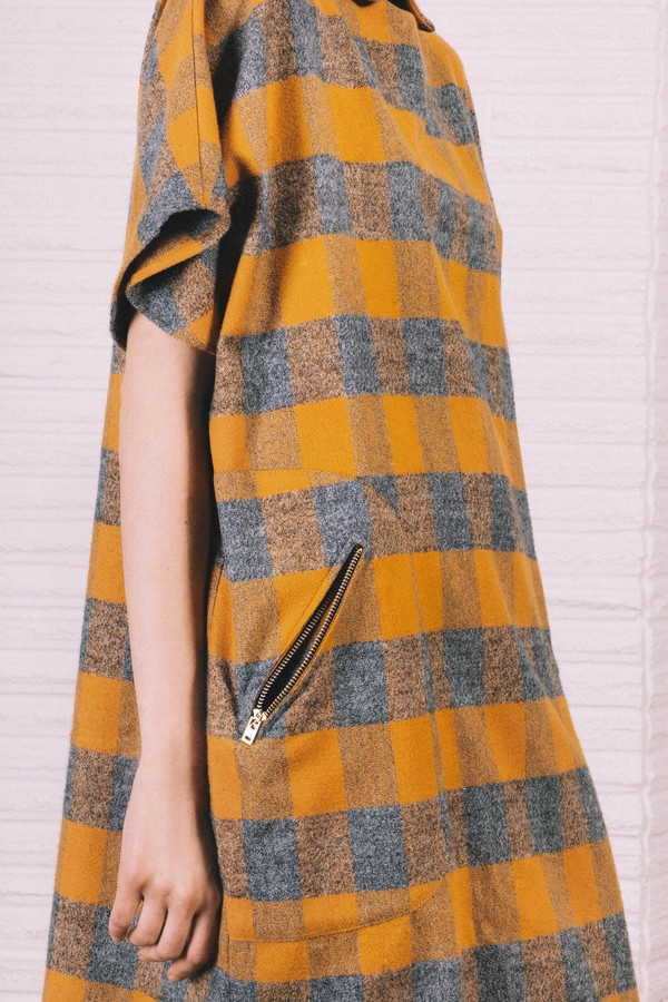 Kate Towers oversized checked Dress