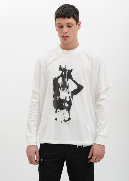 Heliot Emil Double Layered Shirt - White