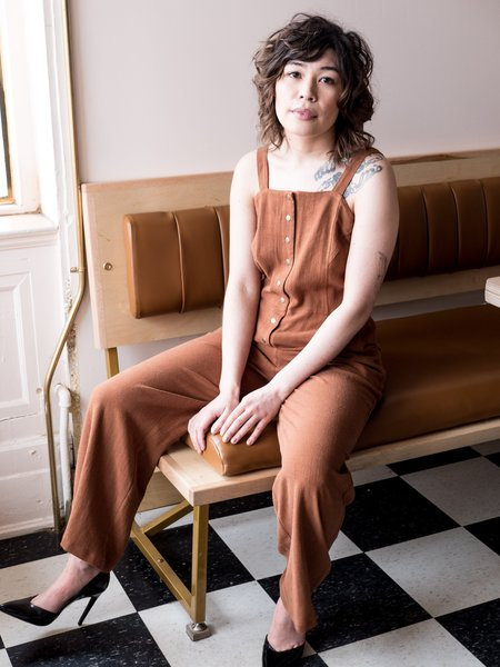 Dagg & Stacey Connolly Jumpsuit - Cinnamon