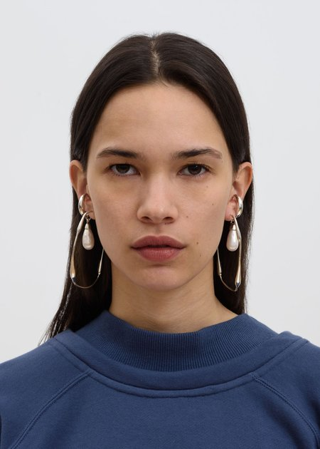 Ambush Sculpture Pair Earring - Silver