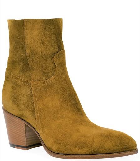 Rocco P Leather Ankle Boot - Senape