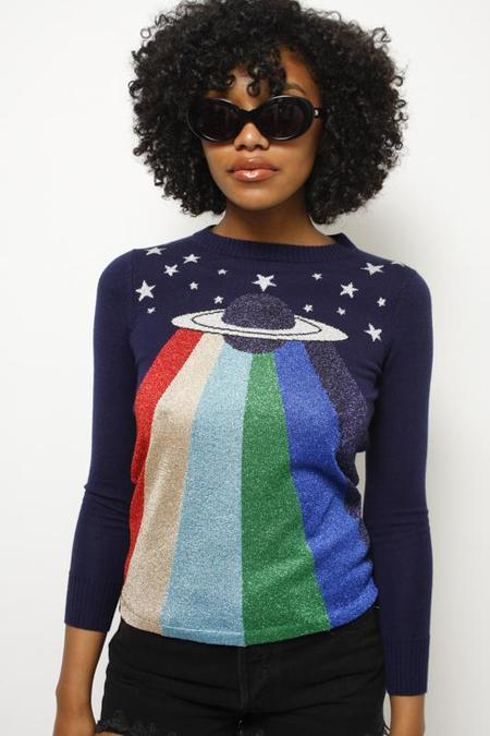 STONED IMMACULATE MAJOR TOM SWEATER - NAVY