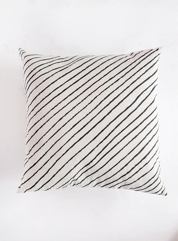 Sunday Supply Co. Organic Cotton Pillow Diagonal