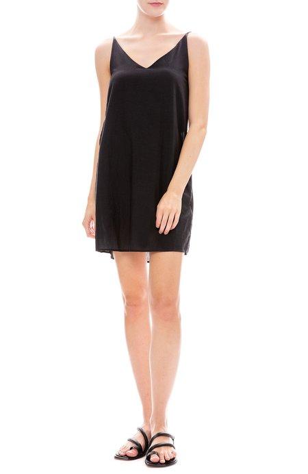 Black Crane Cami Dress