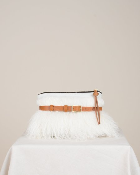 Eleven Thirty Amada Fanny Pack - Cotton with White Mongolian