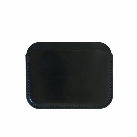 MAKR Round Luxe Wallet - Black