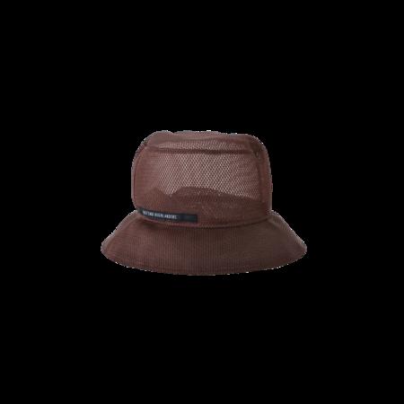 kids East End Highlanders Mesh Bucket Hat - brown