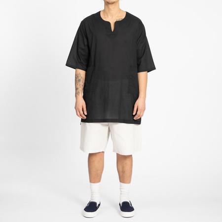 S.K. Manor Hill Oba Shirt - Translucent Black