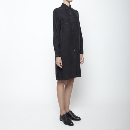 7115 by Szeki Pockets Shirtdress