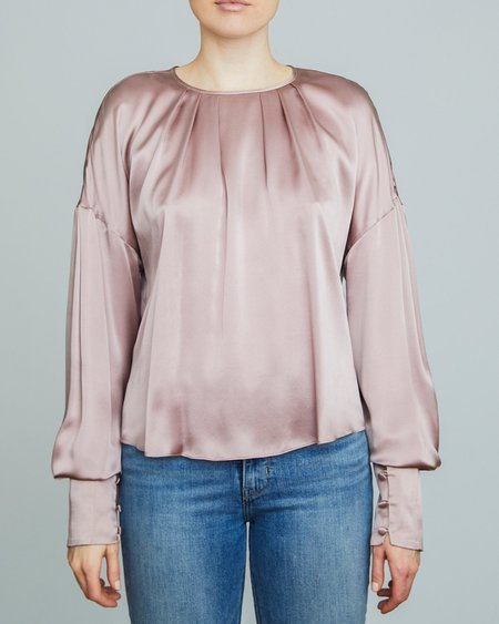 INGA-LENA The Ylva Blouse - Misty Rose