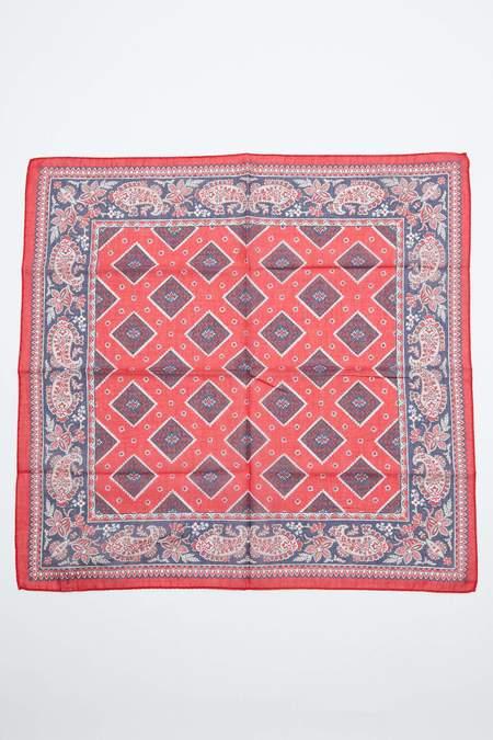 Engineered Garments Bandana Scarf - Red