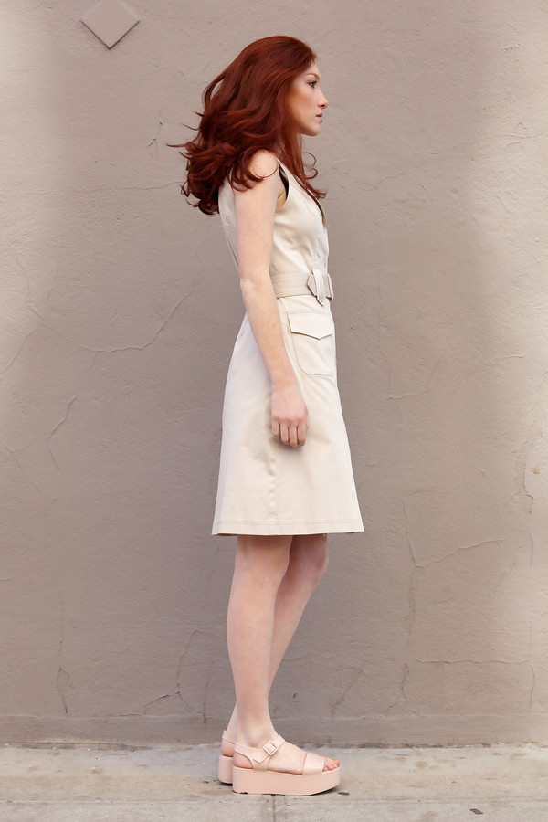 Anni Kuan Bond Shirt Dress