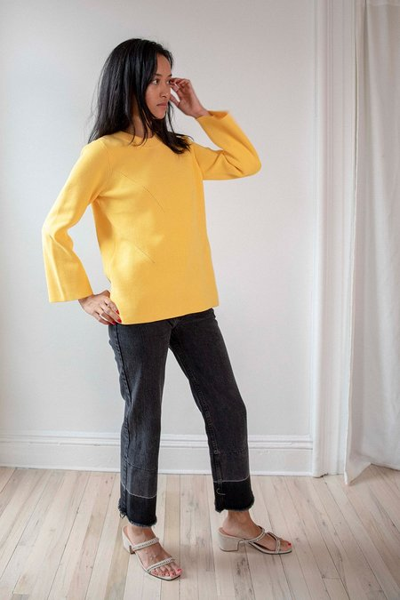Just Female Lison Knit - Yellow
