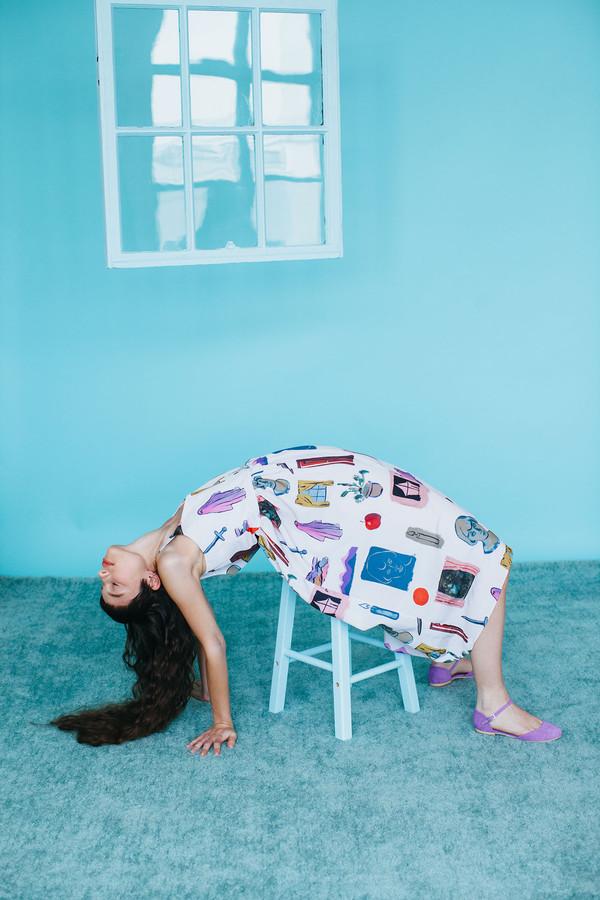 Samantha Pleet Myth Dress - Dreaming