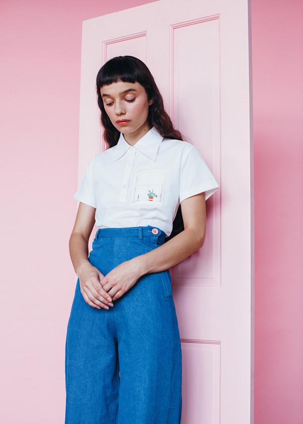 Samantha Pleet Plank Jeans - Ultramarine