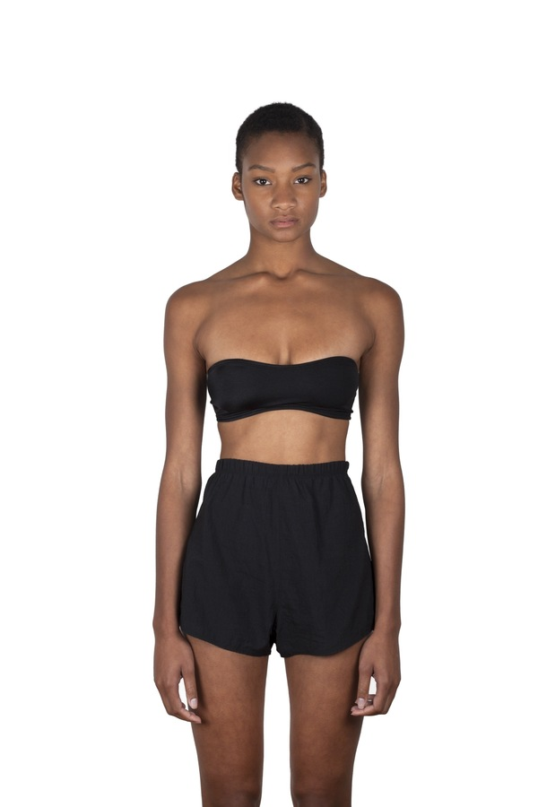 Minnow Bathers Walker Top - Black