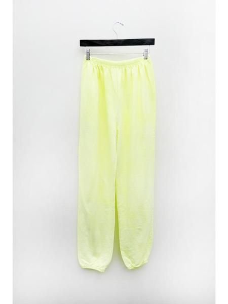 Audrey Louise Reynolds Organic Cotton Sweatpants - Limoncello Yellow