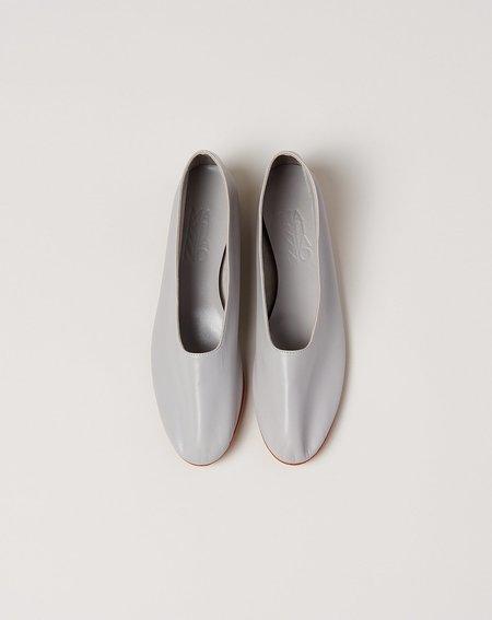 Martiniano Glove Flat Shoe - Light Grey