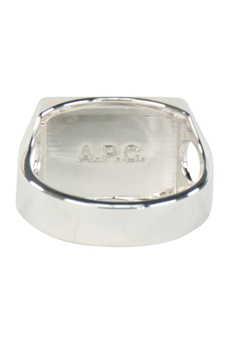 A.P.C. Bague Theo Ring Argent