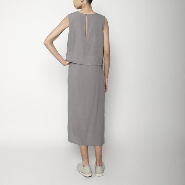 7115 by Szeki Sleeveless Layered Dress