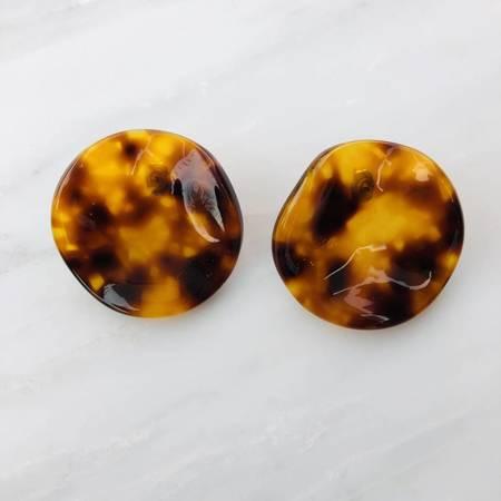 Rachel Comey Shell Earrings - Tortoise