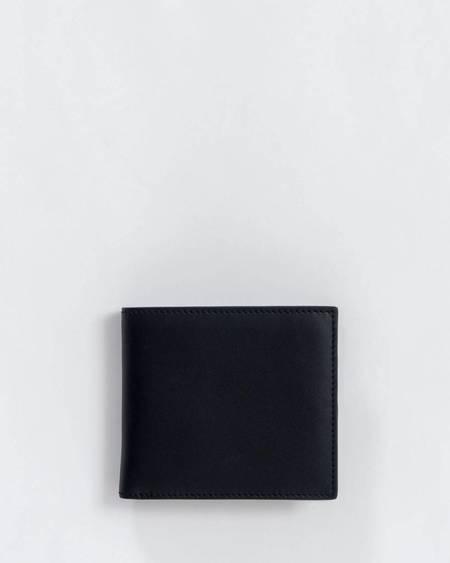 BAGGU Leather Bifold Wallet - Black