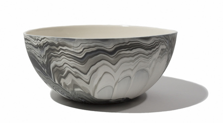 Andrew Molleur Large Serving Bowl - Marbled
