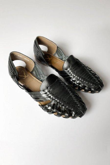 Fiesta Feet HUARACHE SANDAL - BLACK