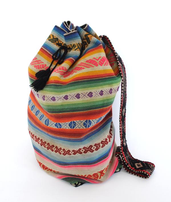 Handmade Machu Picchu Backpack