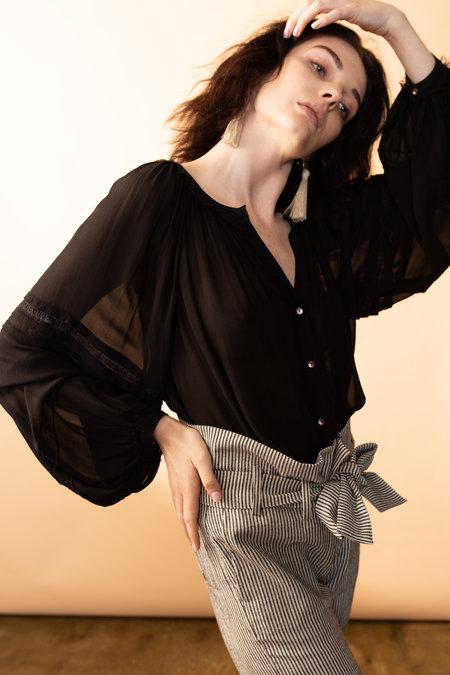 Arteaga Angela Silk Blouse - black